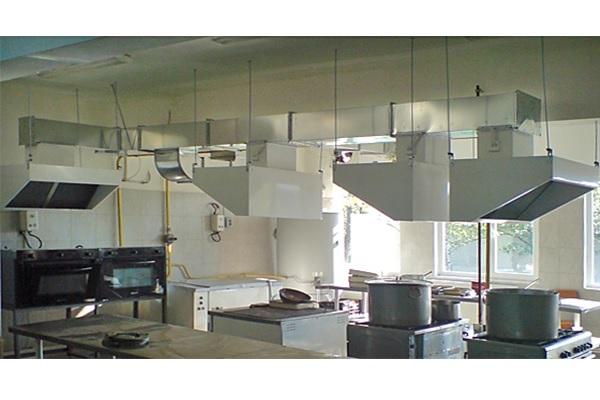 Вентилационна система за кухня - смукатели