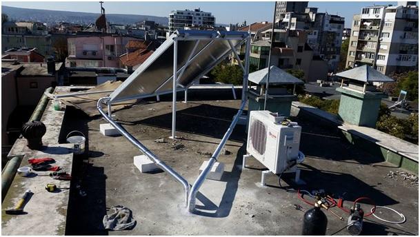 Соларни системи с термопомпи