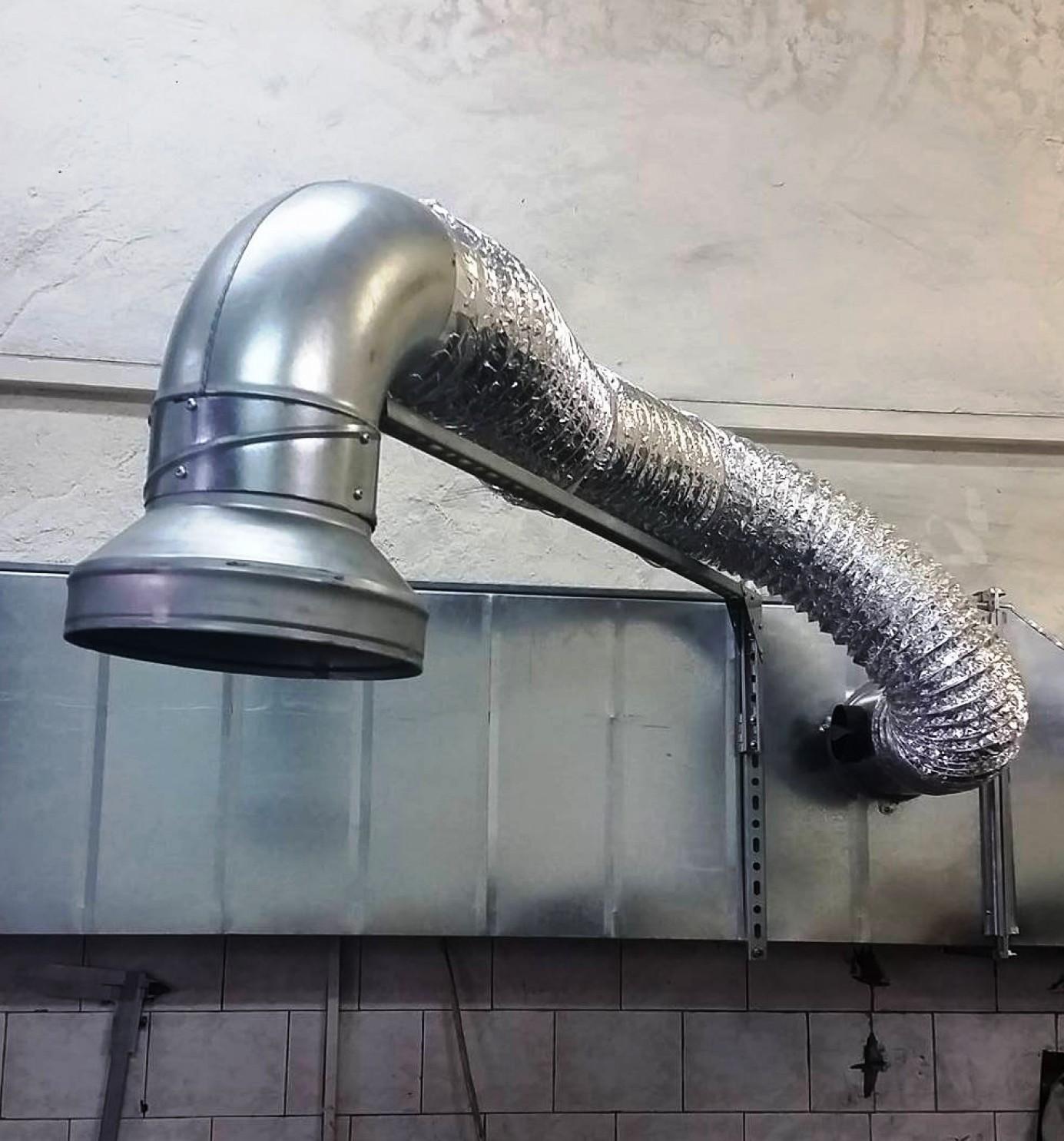 Система за вентилация - местен смукател