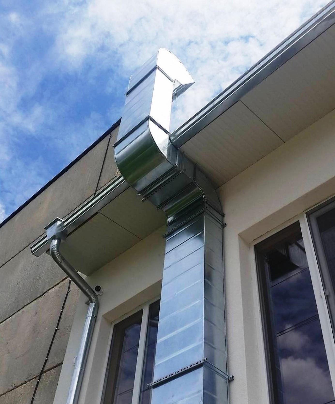 Система за вентилация - завършващ елемент