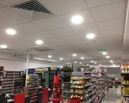 Вентилационна система и климатична инсталация магазин