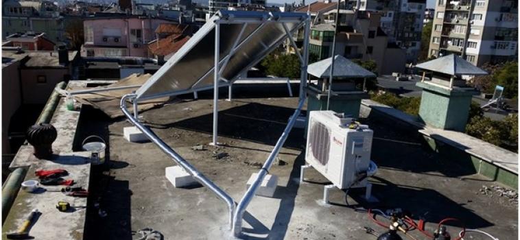 Соларна система – инсталация с термопомпа